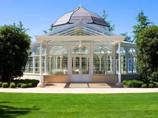 Architektonische Perle in der italienischen Natur Mediterraner Wintergarten von KELLER AG Mediterran