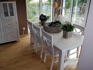 Country style dining room by Laminato - Bodenleger Frank Hennicke Country