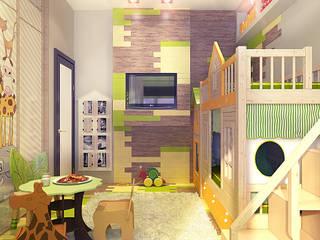 Phòng trẻ em phong cách đồng quê bởi Your royal design Đồng quê