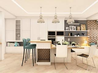 Проект квартиры в г.Киеве «Дом, в котором живет музыка» Кухня в стиле модерн от «Artinterior» – Студия дизайна интерьера Модерн