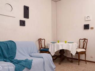 Dettaglio del soggiorno:  in stile  di Home Staging Corner