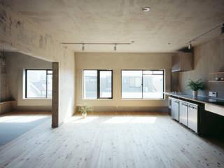 SETAGAYA FLAT 苅部 寛子建築設計事務所 /OFFICE OF KARIBE HIROKO Cucina in stile rustico