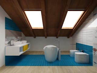 Bathroom by SUPER BLOC SRL