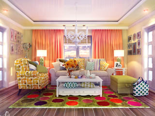 Living room by Your royal design, Country