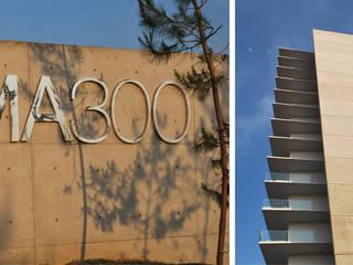 Residencial vertical CIMA 300, Zapopan: Casas de estilo moderno por LEAP Laboratorio en Arquitectura Progresiva