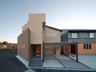 Casas de estilo  por ヒロノアソシエイツ一級建築士事務所, Moderno
