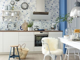 Kitchen by diewohnblogger, Scandinavian