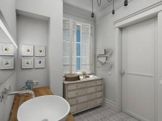 Eclectic style bathrooms by Aleksandra Kostyuchkova Eclectic