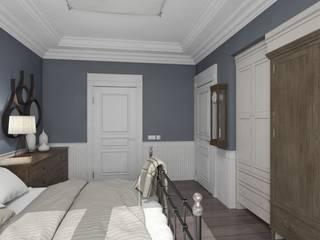 Eclectic style bedroom by Aleksandra Kostyuchkova Eclectic