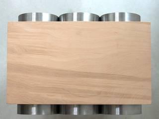 Gazetnik na wino od NaNowo Industrial Design Minimalistyczny