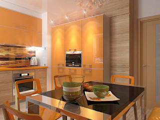 Kitchen by Your royal design, Minimalist