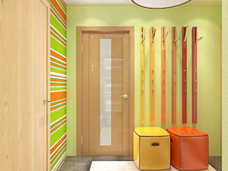 Corridor & hallway by Your royal design, Minimalist
