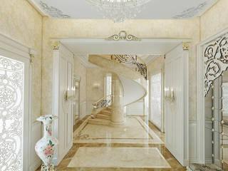 Pasillos y recibidores de estilo  por Nuevo Tasarım