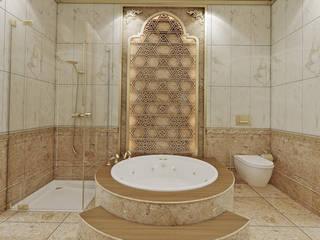 Klasik villa projesi Klasik Banyo homify Klasik
