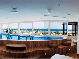 pool: Hotel in stile  di STUDIO ARCHITETTURA SILVIA GIANNINI