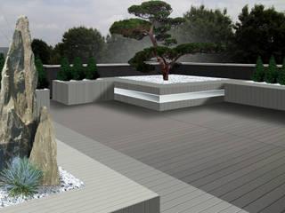 Il giardino a portata di mano Balcone, Veranda & Terrazza in stile moderno di Immagine Verde Moderno