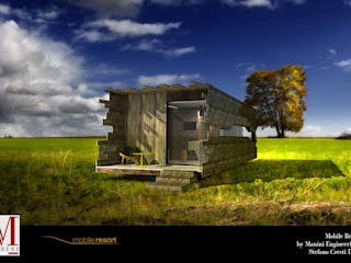 MOBILE RESORT by Manini Engineering Srl Case in stile minimalista di MANINI ENGINEERING SRL Minimalista
