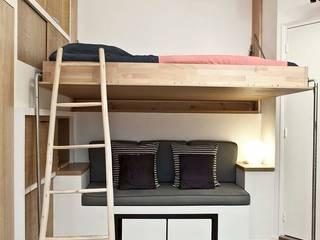 Camera da letto in stile scandinavo di Géraldine Laferté Scandinavo