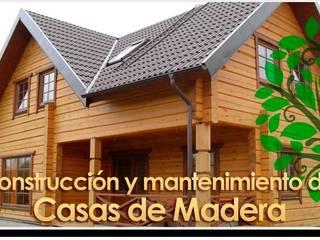 Todo en Madera -  Carpinteros Valencia: Casas de estilo  de Carpinteros Valencia - Todo en Madera