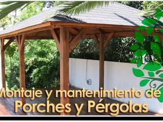 Todo en Madera -  Carpinteros Valencia: Jardines de estilo  de Carpinteros Valencia - Todo en Madera