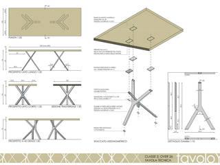 tavola costruttiva:  in stile  di a2 studio di architettura