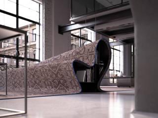 Stumble Upon Sofa por Alessandro Isola Ltd Moderno