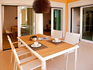 Balcon, Veranda & Terrasse modernes par Staging Factory Moderne