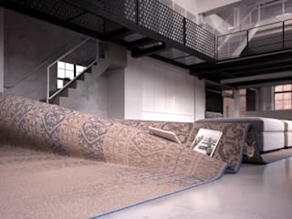 Stumble Upon Sofa de Alessandro Isola Ltd Moderno