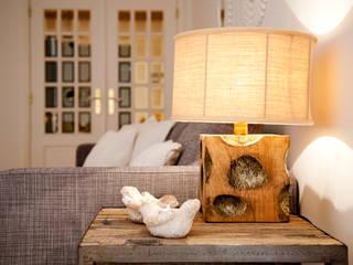 Projekty,  Salon zaprojektowane przez Home Staging Factory