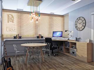 Дизайн проект квартиры в стиле Лофт: Гостиная в . Автор – Урм Регина