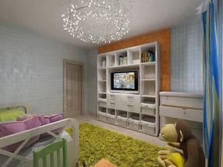 Студия дизайна Натали Хованской Minimalist nursery/kids room