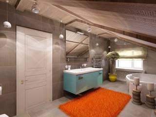 Студия дизайна Натали Хованской Industrial style bathroom