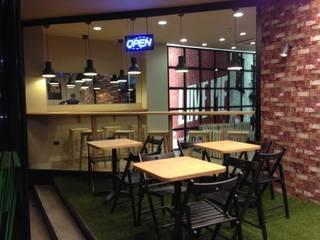Enjoy Urban Diner Gastronomía de estilo industrial de Alicia Toledo Industrial