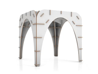Gothìk Collection: Allestimenti fieristici in stile  di Origami Furniture