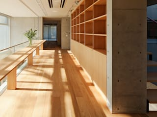 T-house: 秋山建築研究所が手掛けた書斎です。