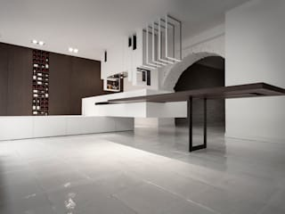 The Cut Kitchen de Alessandro Isola Ltd Moderno