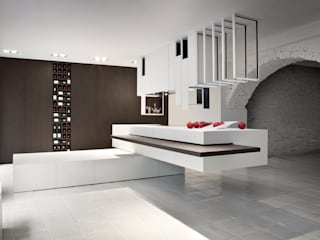 The Cut Kitchen por Alessandro Isola Ltd Moderno