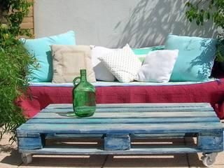 Table basse / Palette recyclée:  de style  par Syell