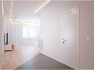 Разумный минимализм. Коридор, прихожая и лестница в стиле минимализм от премиум интериум Минимализм