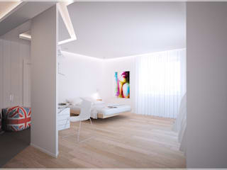 Разумный минимализм. Спальня в стиле минимализм от премиум интериум Минимализм
