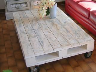 Table basse / Palette: Salon de style de style eclectique par Syell