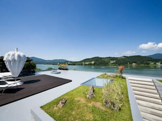 Floating House 모던스타일 정원 by hyunjoonyoo architects 모던