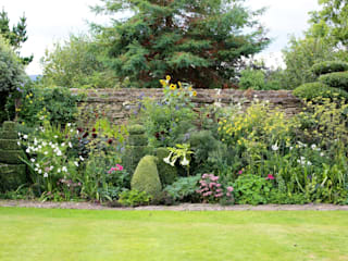 Topiary and Cloud Pruning in an English Country Garden:  Garden by Niwaki