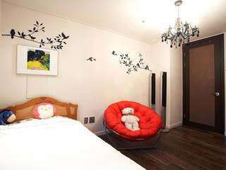 은평 힐스테이트: Hauan의  침실