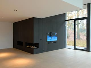 Modern Living Room by Designed By David Modern