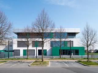 Unternehmenszentrale Drekopf Moderne Bürogebäude von bdmp Architekten & Stadtplaner BDA GmbH & Co. KG Modern