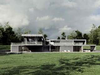 Casas de estilo  por Easst.com, Minimalista