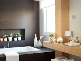 Rustic style bathroom by Disak Studio Rustic