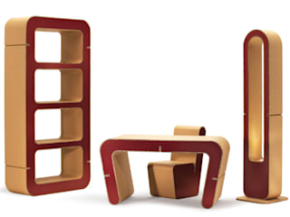 Snake Collection Origami Furniture EstudioArmarios y estanterías