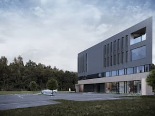 Edificios de oficinas de estilo  por Easst.com, Industrial